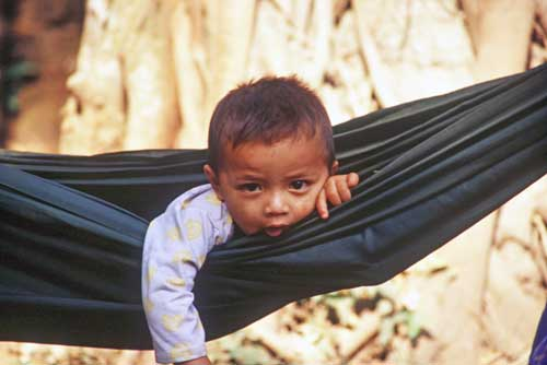 boy in hammock-AsiaPhotoStock