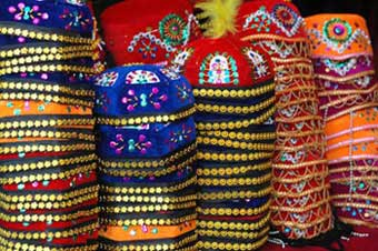 colourful muslim hats-AsiaPhotoStock