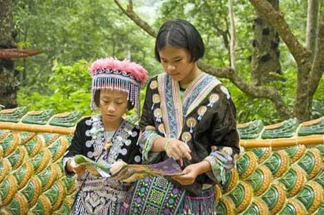 hmong reading-AsiaPhotoStock