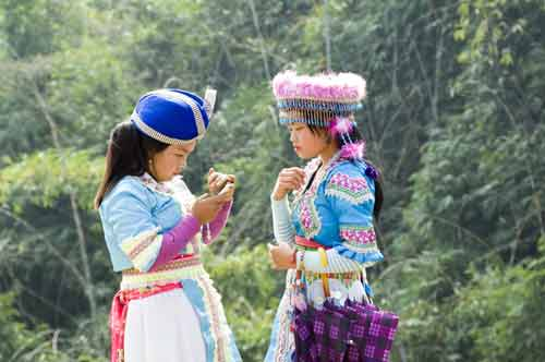 hmong girls-AsiaPhotoStock