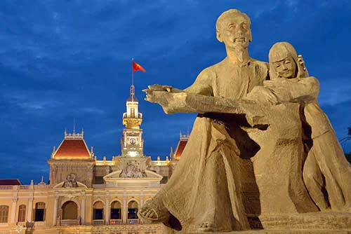 ho chi minh night-AsiaPhotoStock