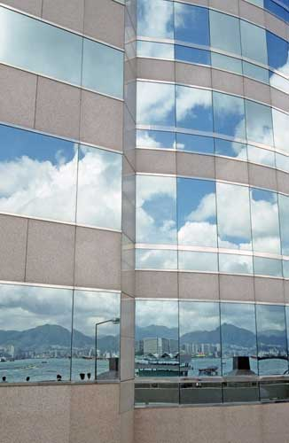 hong kong reflection-AsiaPhotoStock