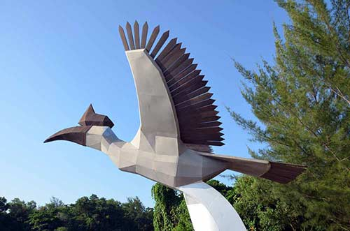 hornbill sculpture damai-AsiaPhotoStock