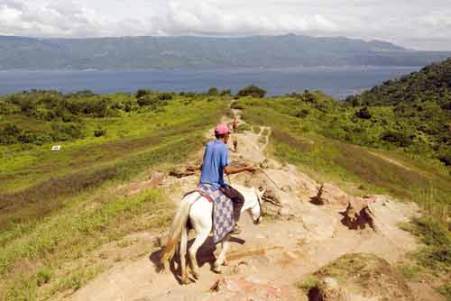 ride at lake taal-AsiaPhotoStock