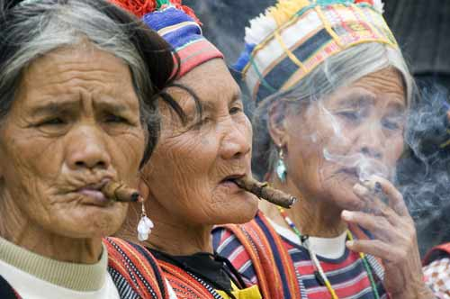 igorot woman smokers-AsiaPhotoStock