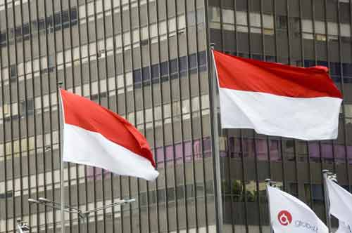 indonesian flags-AsiaPhotoStock
