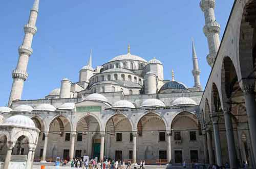 inner blue mosque-AsiaPhotoStock