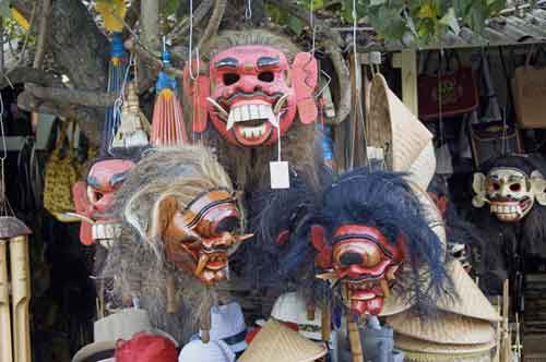 java masks mendut-AsiaPhotoStock