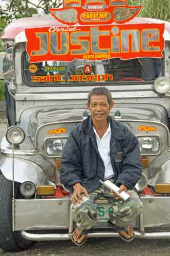 jeepney driver taal-AsiaPhotoStock