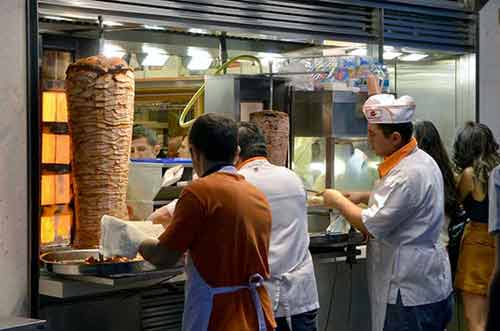 kebab dinner-AsiaPhotoStock