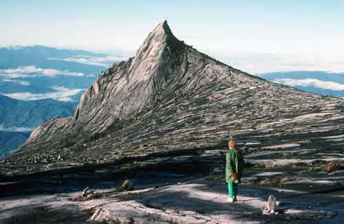 looking at kinabalu-AsiaPhotoStock