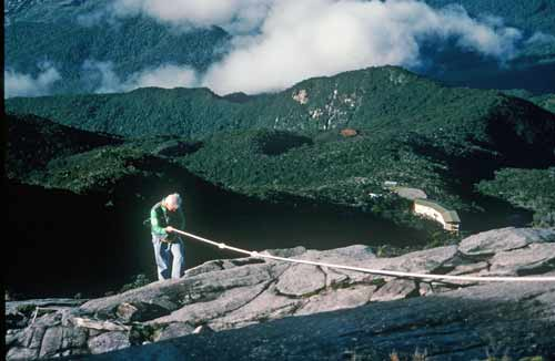 rope on kinabalu-AsiaPhotoStock