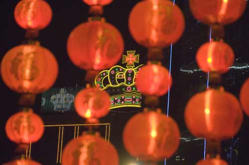 lanterns and crown-AsiaPhotoStock