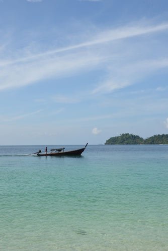 long boat andaman sea-AsiaPhotoStock