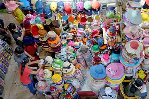 lots of hats-AsiaPhotoStock