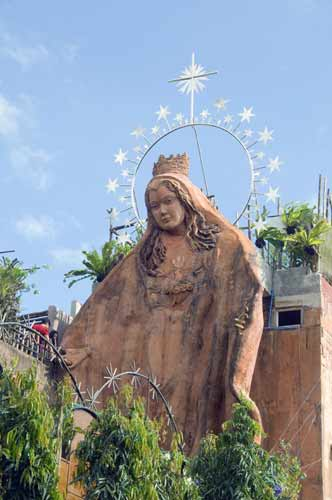 mary at tagatay church-AsiaPhotoStock