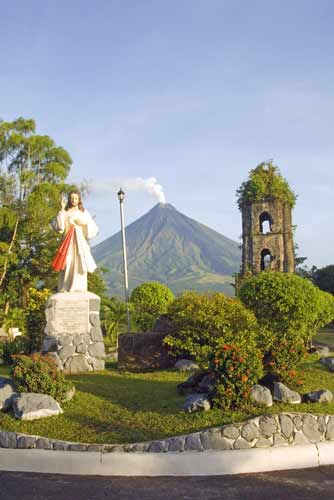 view of mt mayon-AsiaPhotoStock