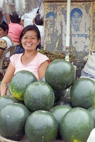 melon sellers-AsiaPhotoStock
