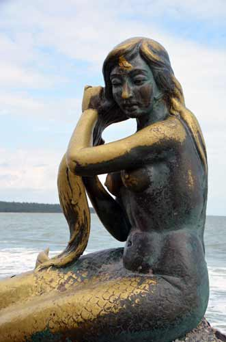 mermaid at songkhla-AsiaPhotoStock