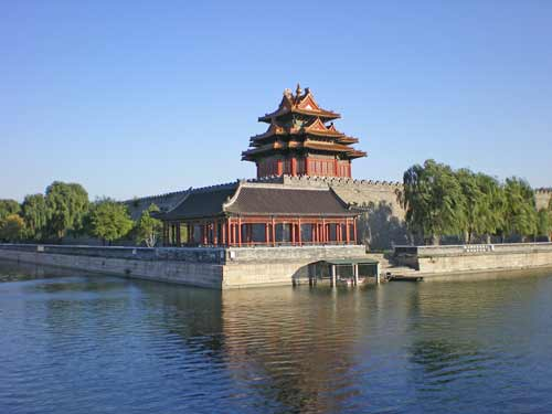 moat at forbidden city-AsiaPhotoStock