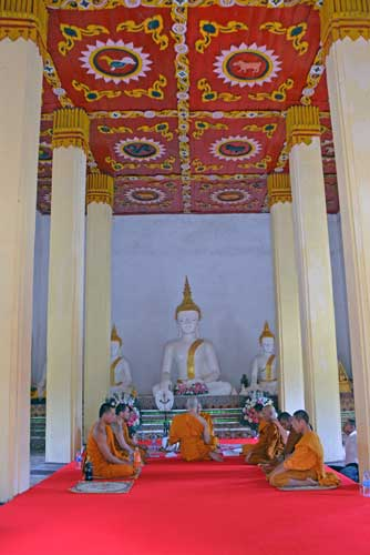 monks at temple-AsiaPhotoStock