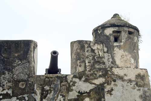 monte fort cannons-AsiaPhotoStock
