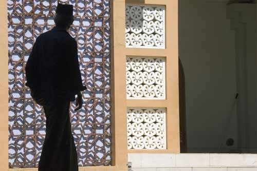 silhouette at mosque-AsiaPhotoStock