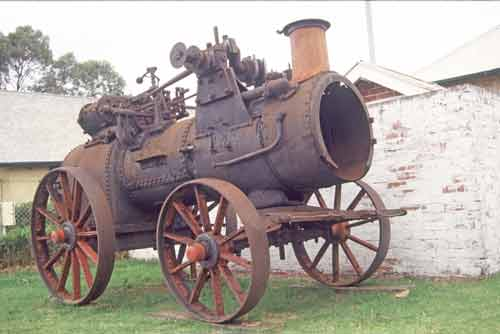 old steam machine-AsiaPhotoStock