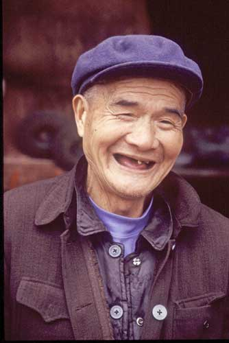 old chinese man-AsiaPhotoStock