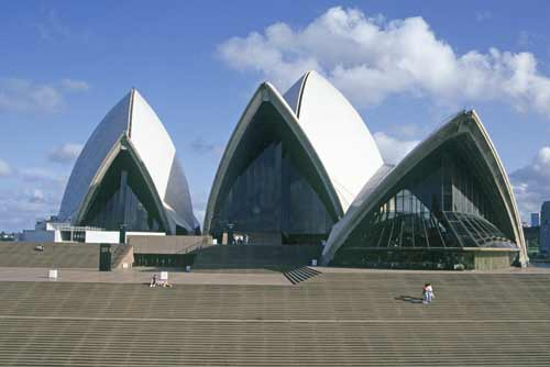front of opera house-AsiaPhotoStock
