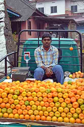 orange seller-AsiaPhotoStock