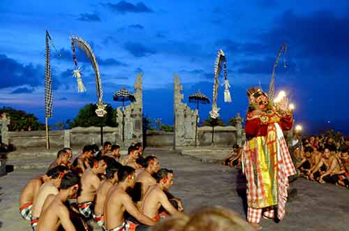 outdoor kecak dance-AsiaPhotoStock