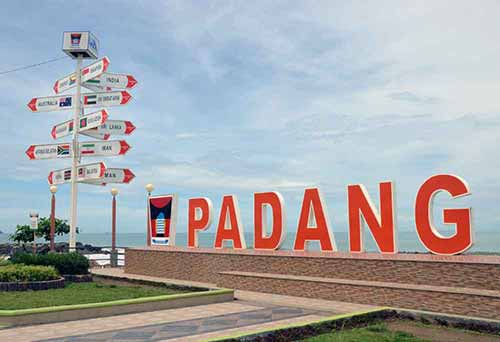 padang city sign-AsiaPhotoStock
