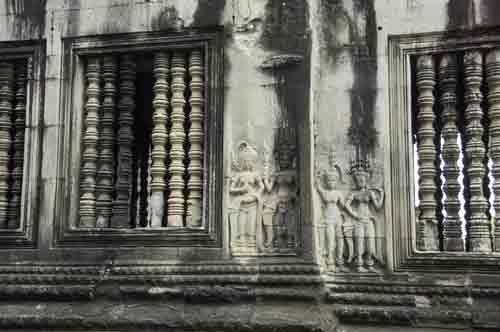 pillars at angkor wat-AsiaPhotoStock
