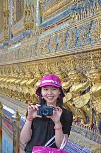 pink hat grand palace-AsiaPhotoStock