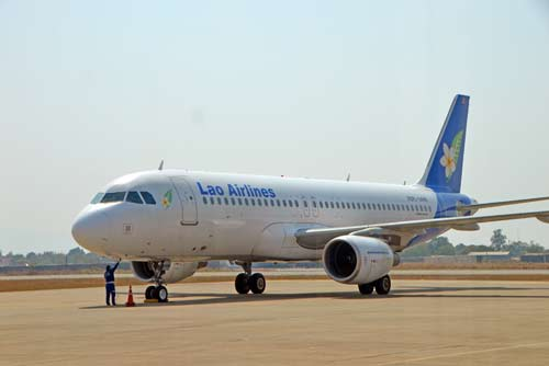 lao airlines plane-AsiaPhotoStock