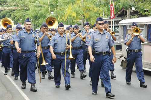 police band-AsiaPhotoStock