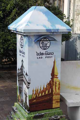 laos post box-AsiaPhotoStock