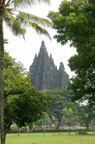 prambanan from road-AsiaPhotoStock