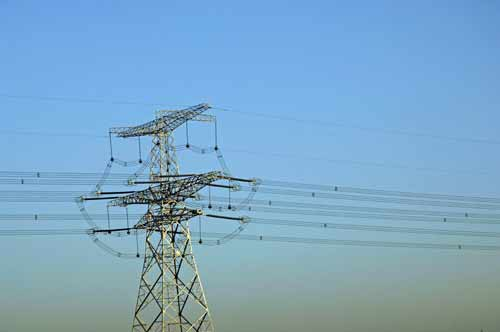 electricity pylon-AsiaPhotoStock