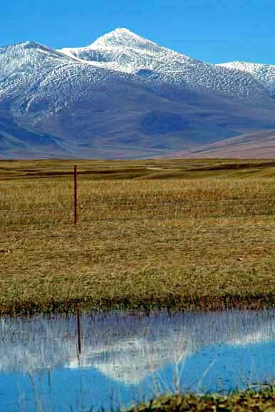 reflected hill-AsiaPhotoStock