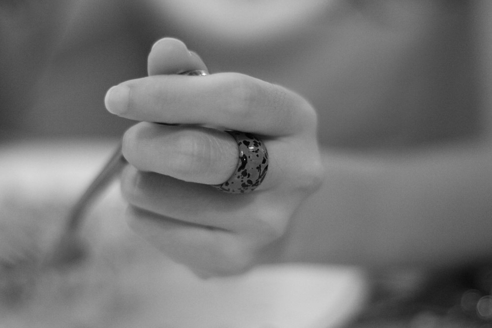 monochrome ring-AsiaPhotoStock