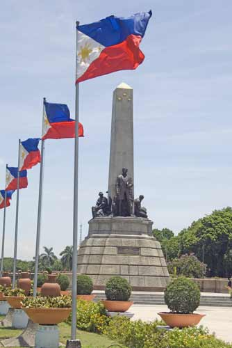rizal park flags-AsiaPhotoStock