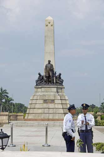 rizal park guards-AsiaPhotoStock