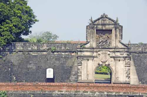 fort santiago entrance-AsiaPhotoStock