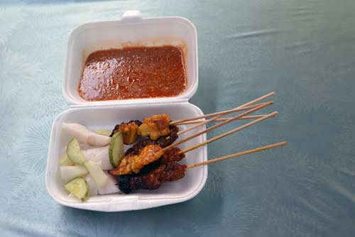satay for lunch-AsiaPhotoStock