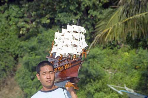 model ship vendor-AsiaPhotoStock
