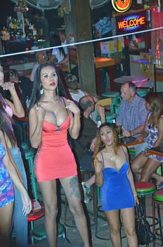 show in bangla road-AsiaPhotoStock