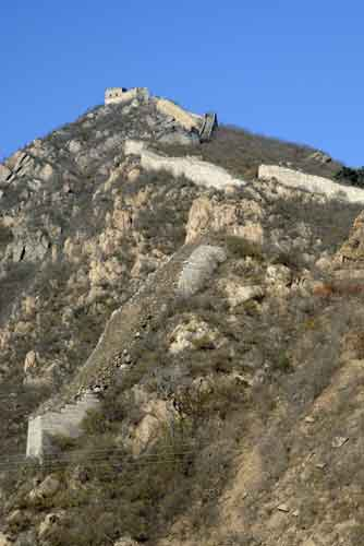 steep great wall-AsiaPhotoStock