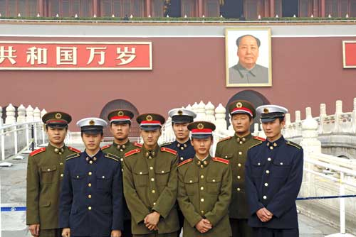 armed forces and mao-AsiaPhotoStock